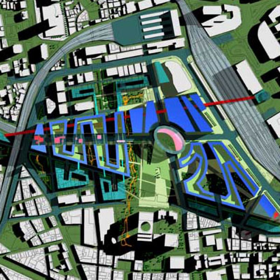 Fragment centrum miasta